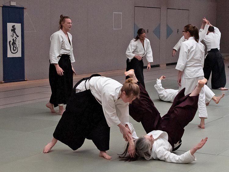 Aikido Berlin Friedrichshain Training